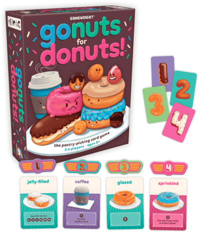go nuts for donuts contents