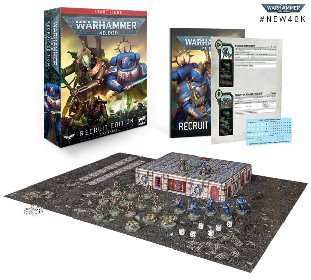 warhammer 40k recruit box