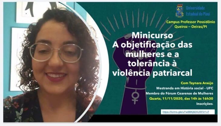 A 3 Grupo de mulheres do campus de Oeiras promove evento para discutir sobre a cultura do estupro