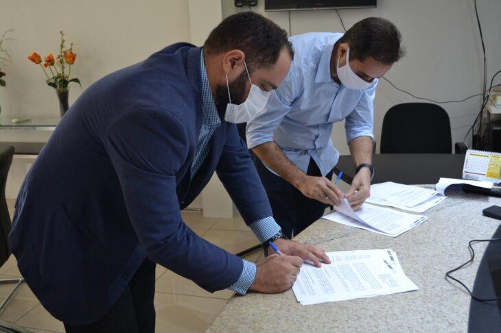 DSC 0309 Detran-PI firma parceria com o Sest/Senat
