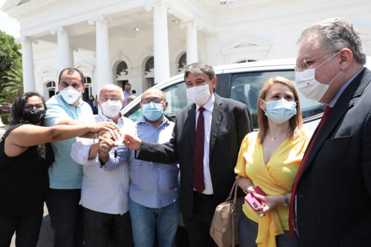 Entrega veiculos Hemopi e prefeituras 5 Governador entrega nove veículos para reforçar a saúde no Piauí