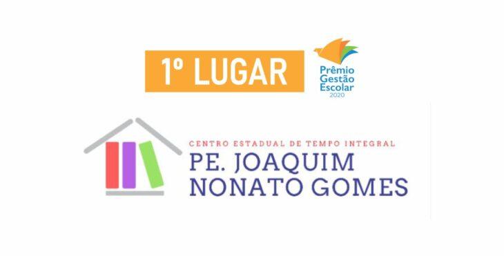 PGE 1 LUGAR Ceti Padre Joaquim Nonato Gomes vence Programa de Gestão Escolar 2020