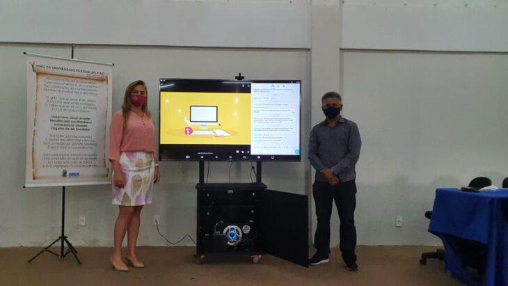a 5 Uespi distribui kits de mediação tecnológica em 5 campi