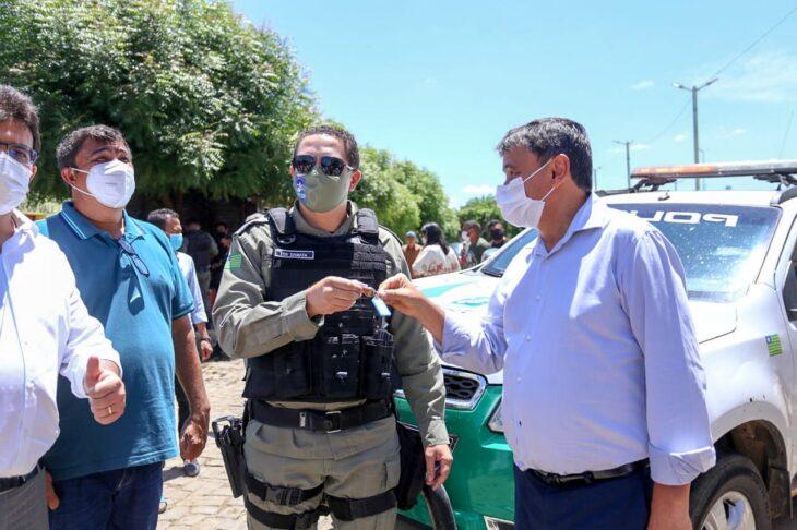 Agenda em Paes Landim 13 Dias inaugura obras nas áreas de saúde, transporte e segurança em Paes Landim