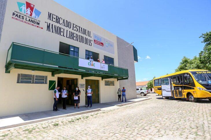Agenda em Paes Landim 17 Dias inaugura obras nas áreas de saúde, transporte e segurança em Paes Landim