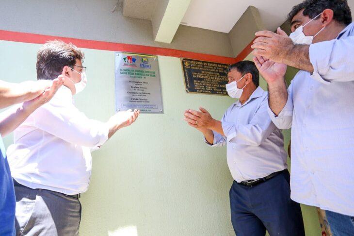 Agenda em Paes Landim 9 Dias inaugura obras nas áreas de saúde, transporte e segurança em Paes Landim
