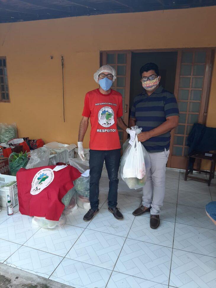 entrega cestas Teresina Movimento dos Pequenos Agricultores do Piauí promove a 3ª edição Natal sem Veneno