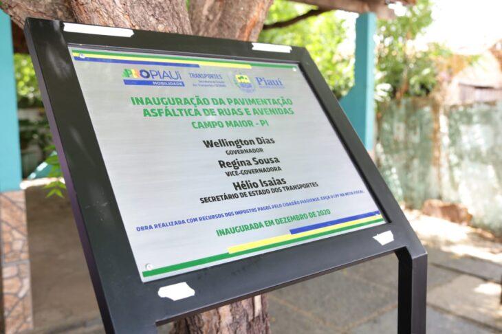 rua alecrim 2 Governador inaugura obras de mobilidade e visita reforma de escola em Campo Maior