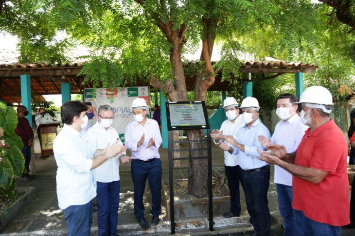 rua alecrim 4 Governador inaugura obras de mobilidade e visita reforma de escola em Campo Maior