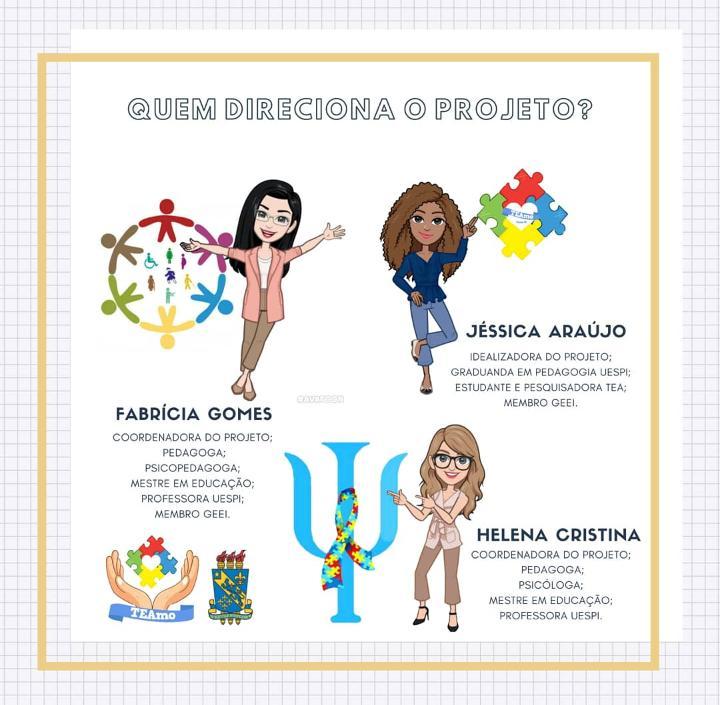 1 2 Aluna da Uespi de Picos cria projeto que acolhe pessoas com autismo e capacita familiares e educadores