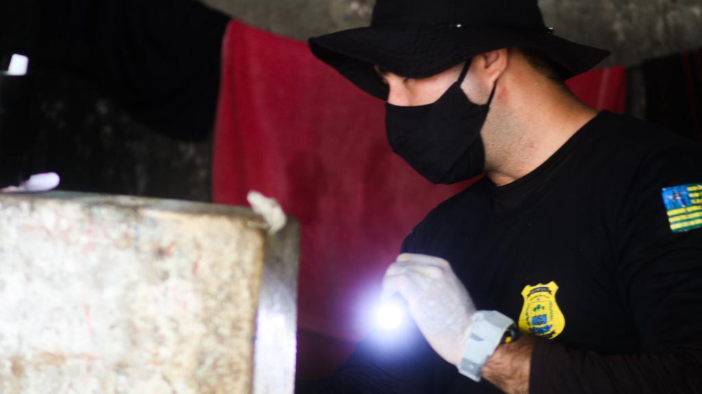 Vistoria Penitenciaria Picos 1 Polícia Penal faz vistoria e retira ilícitos da Penitenciária de Picos
