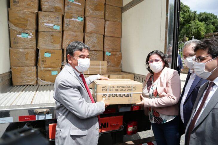 a10d6c98 b786 4258 b629 17f034f43ae1 Piauí inicia distribuição de insumos para vacinação contra a Covid em municípios