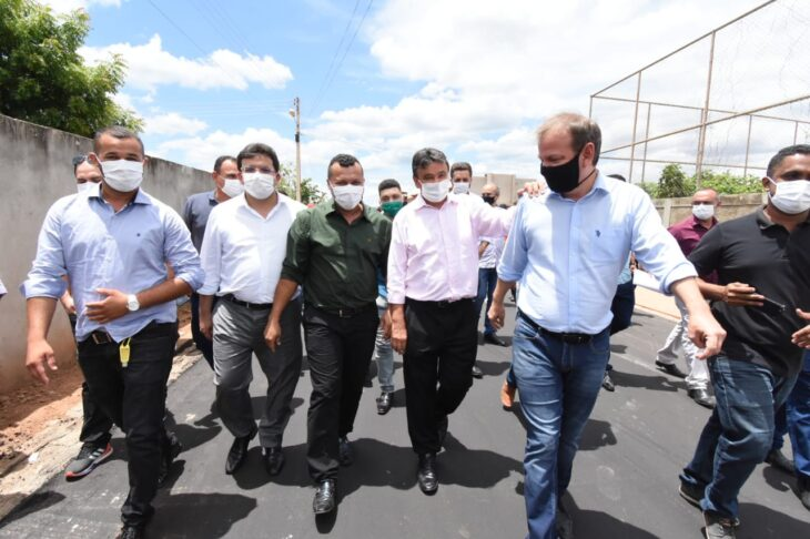 agenda em guaribas 44 Governador entrega obras de mobilidade urbana em Guaribas
