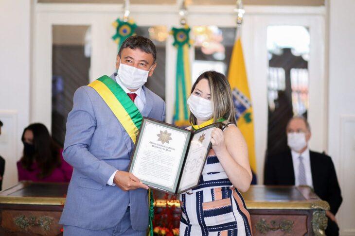 entrega de medalhas 10 Governador entrega medalhas por ocasião do 198º aniversário da adesão do Piauí à Independência