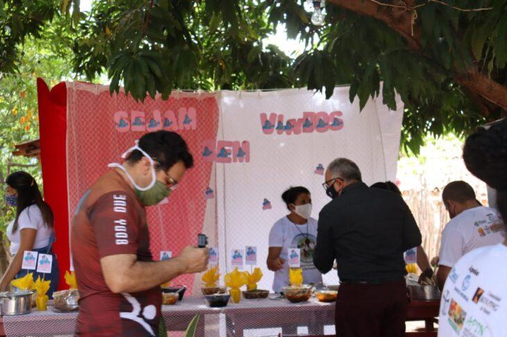 festival Famílias de Lagoa do São Francisco são beneficiadas com projetos executados pela SAF