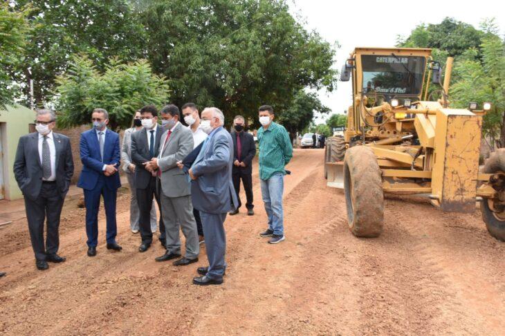 mobilidade piracuruca3 Wellington Dias visita obras e autoriza ações do PRO Piauí durante agenda em Piracuruca