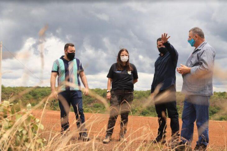 visita srn3 Secretária de Meio Ambiente visita obra do sistema adutor das barragens Bocaina/Piaus
