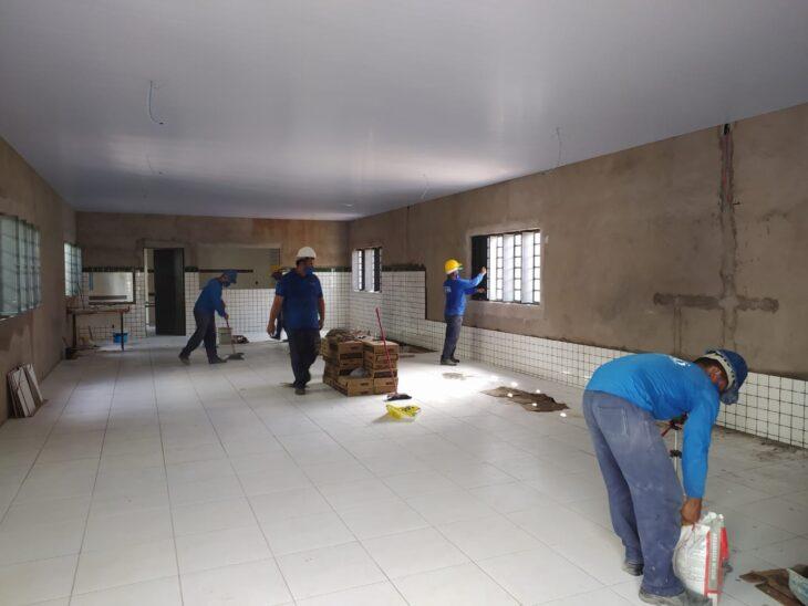 FILINTO PRO Piauí garante obras em escola estadual de União
