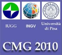 CMG 2010 - logo IUGG, INGV e UniPi
