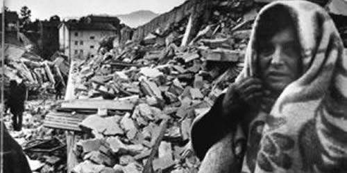 40° anniversario del terremodo in Irpinia del 1980