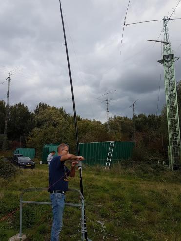 Ronald PA3EWP working the K9AY RX antenna