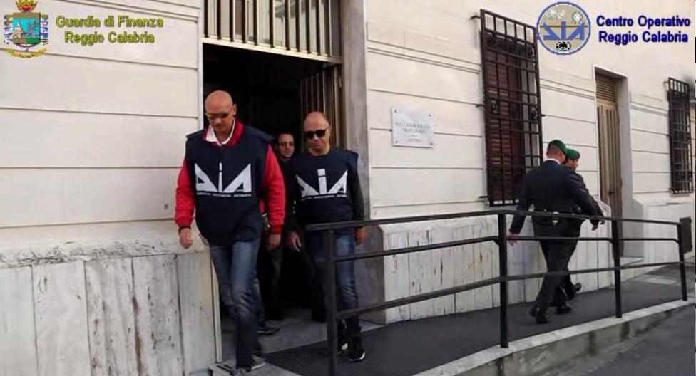 Reggio, sequestro di beni per un valore di 142 milioni di euro