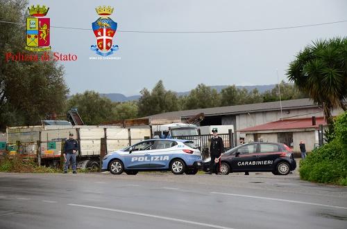 Rosarno, 5 arresti per furto di gas metano