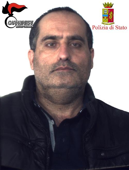 Reggio, arresto del latitante Princi (foto e video)