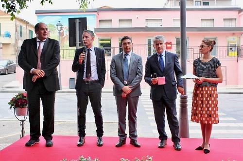 Rosarno: Poste Italiane  presenta il Murale dell'ufficio Postale in Piazza Valarioti