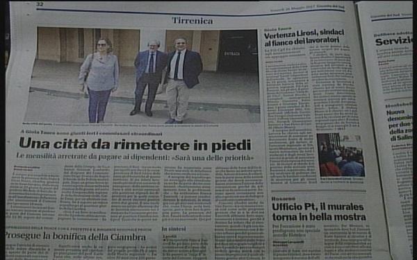 Rassegna Stampa 26 Maggio 2017