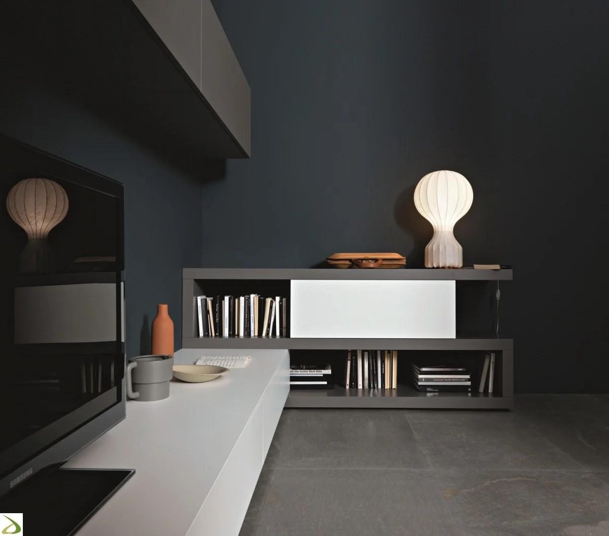 Sei alla ricerca di pareti attrezzate moderne per il tuo soggiorno? Soggiorno Ad Angolo