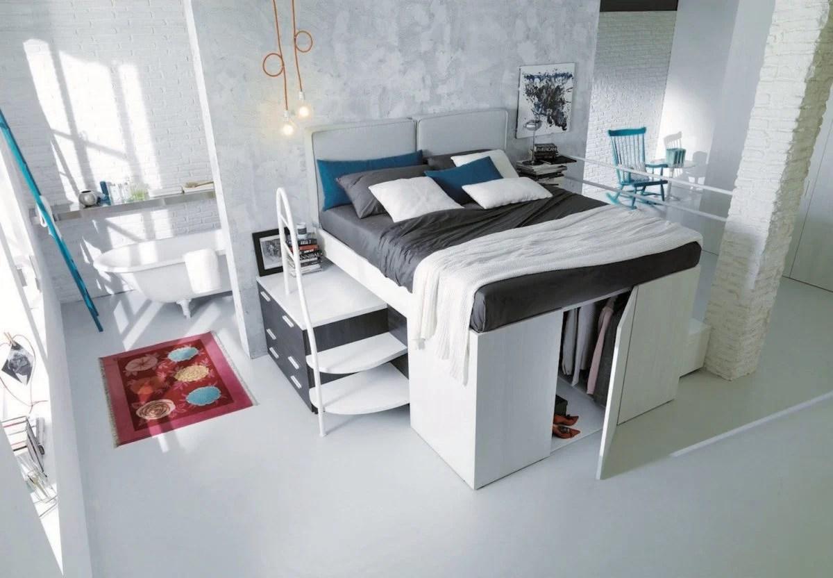 5 idee per arredare camere da letto piccole. Ottimizzare Spazio Camera Da Letto