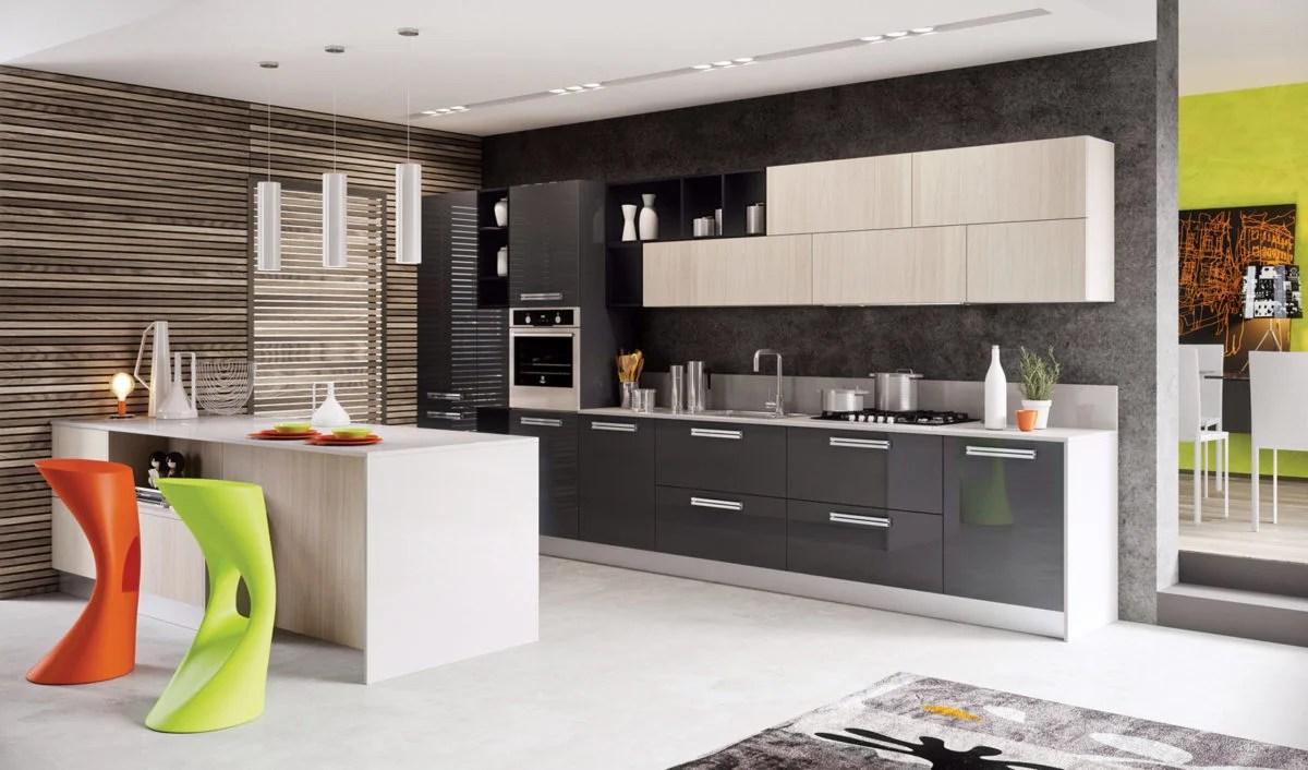 Spunti e idee per il design della cucina. Colore Perfetto Per Le Pareti Della Cucina