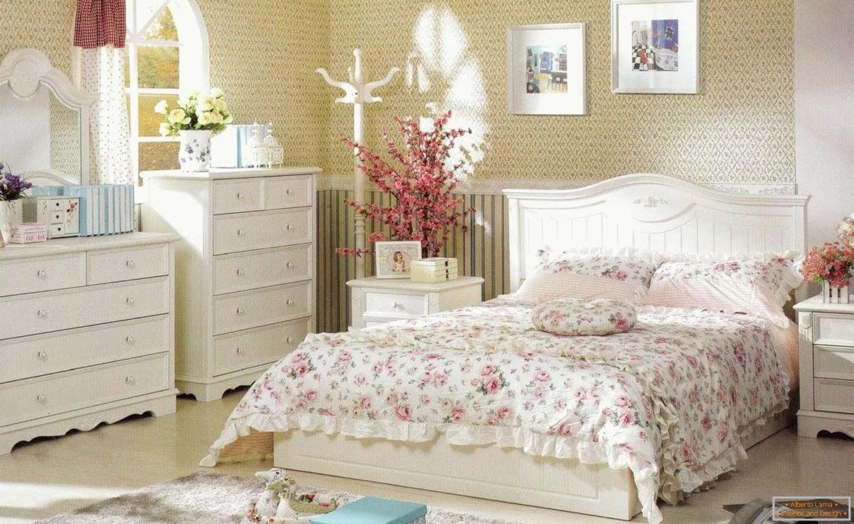 La selezione di colori, tessuti, mobili e decorazioni. Le Idee Piu Attraenti Per La Camera Da Letto Provenzale