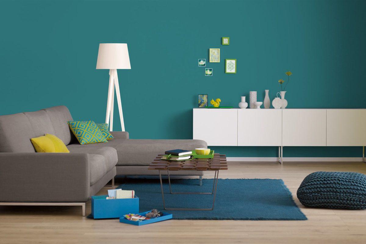 Abbinamenti e palette color ottanio. Soggiorno Color Petrolio Spunti Per Usare Il Mix Di Verde E Blu