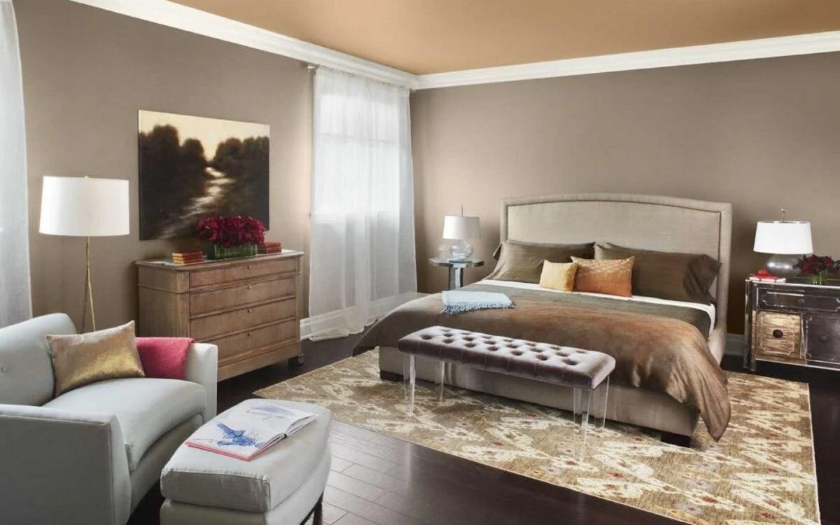 Camera da letto con pareti color grigio tortora esempio di camera da letto con pareti color tortora. Camera Da Letto Tortora Fascino Ed Eleganza Moderna