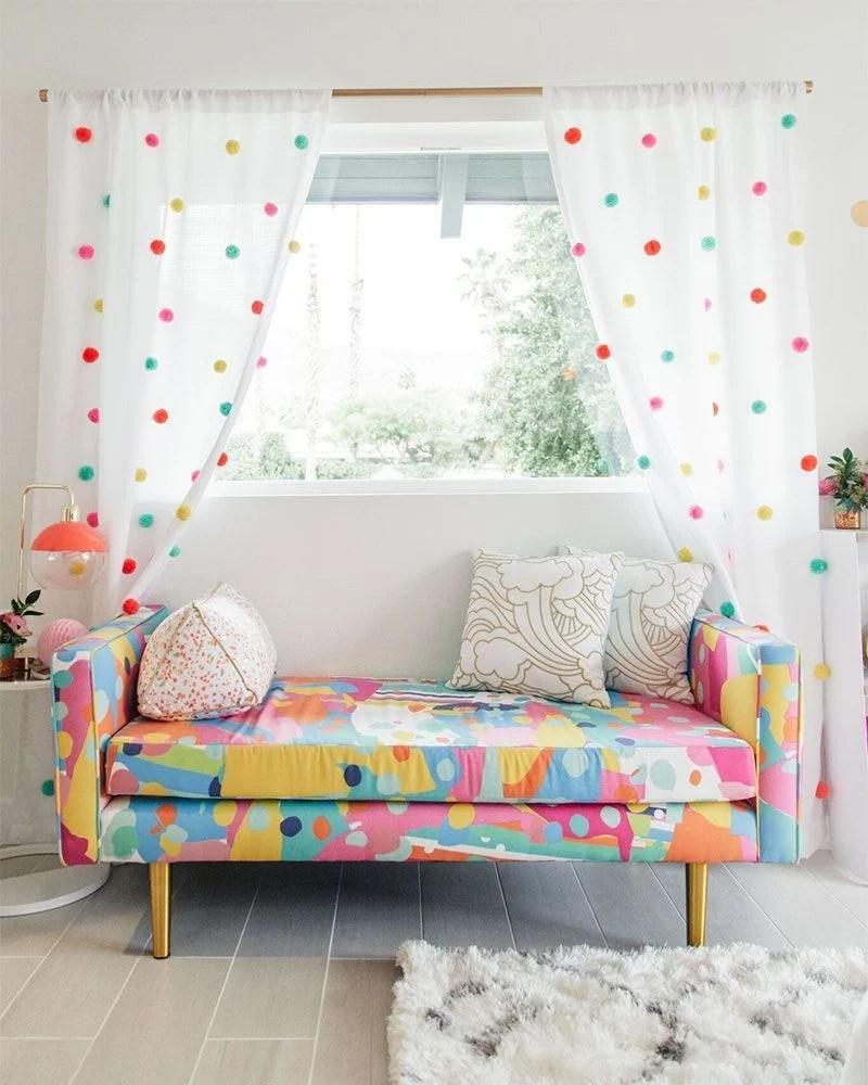 Bastoni e binari per tende. Tende Fai Da Te 20 Idee Fantasiose Per Abbellire Casa