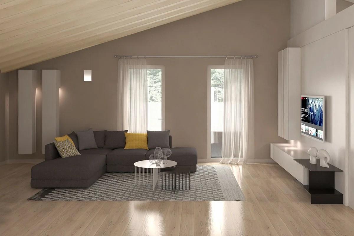 Arredare un ambiente unico con soggiorno e cucina: Ingresso Open Space Idee E Consigli Per Un Arredamento Fantastico