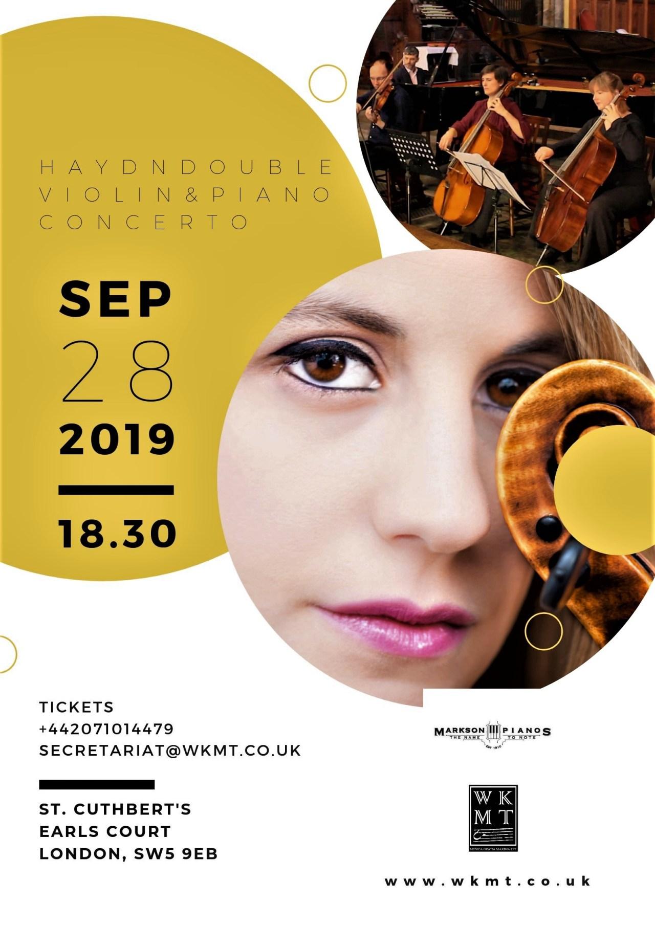 Juan Rezzuto plays Haydn piano concerto Hob XVIII:6 in London