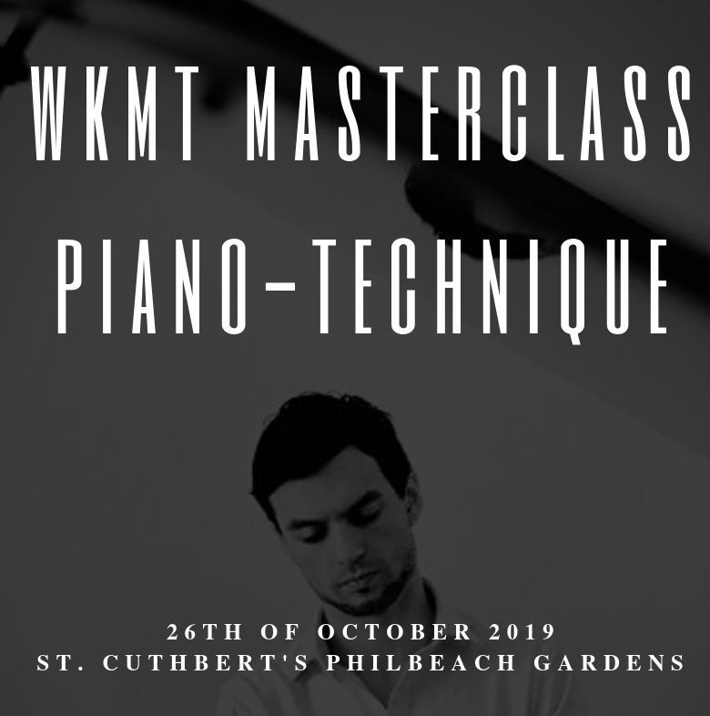 Join the next Masterclass organized by WKMT London