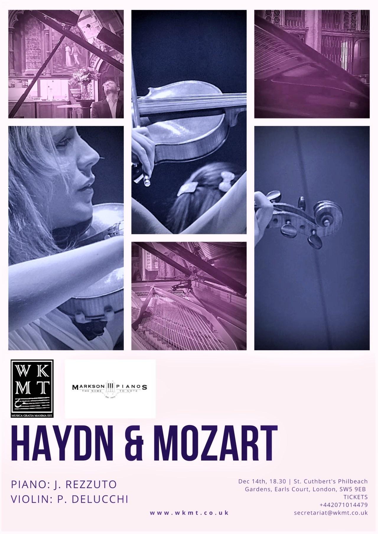 December classical concert at WKMT