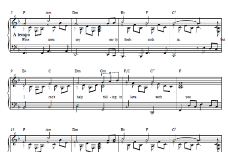 best Cant Help Falling In Love Haley Reinhart Piano Chords image ...