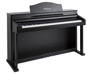 Blüthner e-Klavier 1 B Piano numérique 88 touches Noir satiné laqué