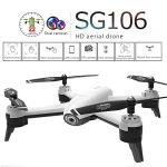 OASICS SG106 2,4 GHz 4CH Maintien WiFi 1080P Optique Double Caméra RC Quadcopter Drone : 27 x 27 x 7 cm Größe: ohne Schutzring: 27 x 27 x 7 cm, Weiß
