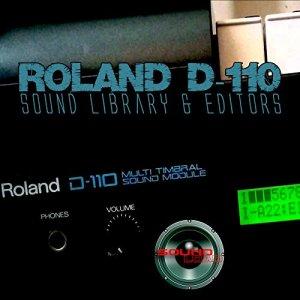 Pour Roland D-110Grande d'usine et de nouveaux Créé Bibliothèque de sons et Monteurs sur CD ou téléchargement