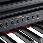 Classic Cantabile DP-50 SM Piano Numérique Noir, avec banc de piano, casque