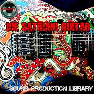Joe Satriani Guitar – HUGE Perfect 24bit WAVE Multi-Layer Samples/Loops/Grooves Library on DVD or download