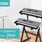 Knox Gear Z-Style Piano pour clavier électronique 2 niveaux