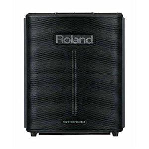 Roland ba-330stéréo Noir–Enceintes Portables stéréo, Filaire, Courant Alternatif, DC, Universel, Noir, AA)