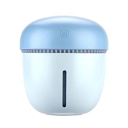 Oasics Humidificateur d'air à cône de pin Humidificateur de table Usb Humidificateur Anti Sèche Ultrasonique s bleu